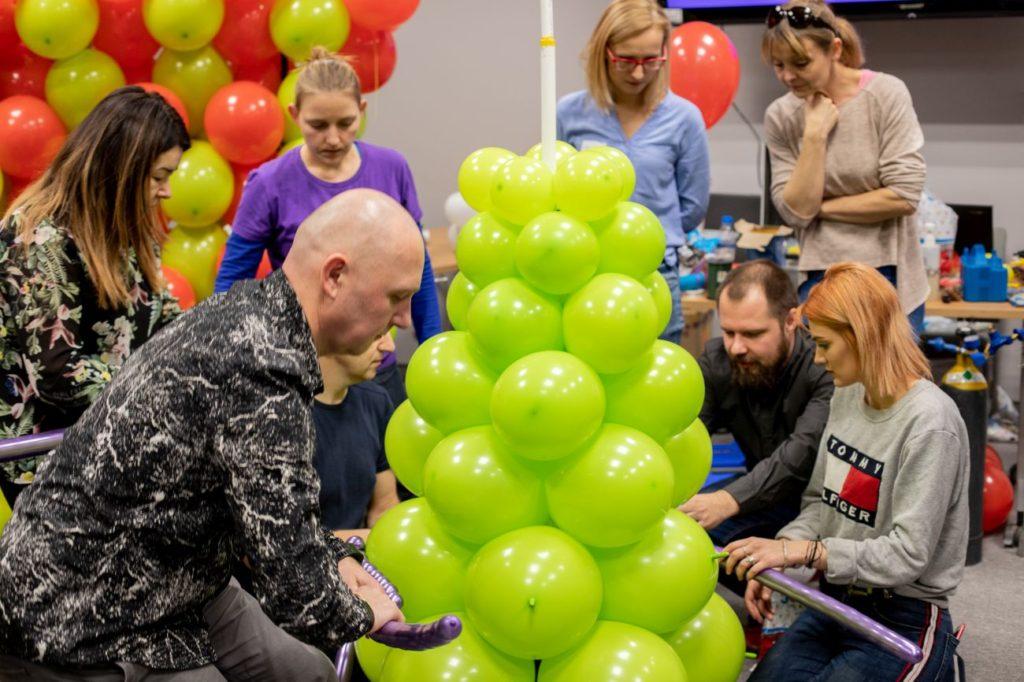 Balony Wrocław - zdjecie szkolenia-dekoracje-balonowe-wroclaw-101