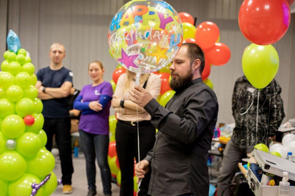 Balony Wrocław - zdjecie szkolenia-dekoracje-balonowe-wroclaw-109