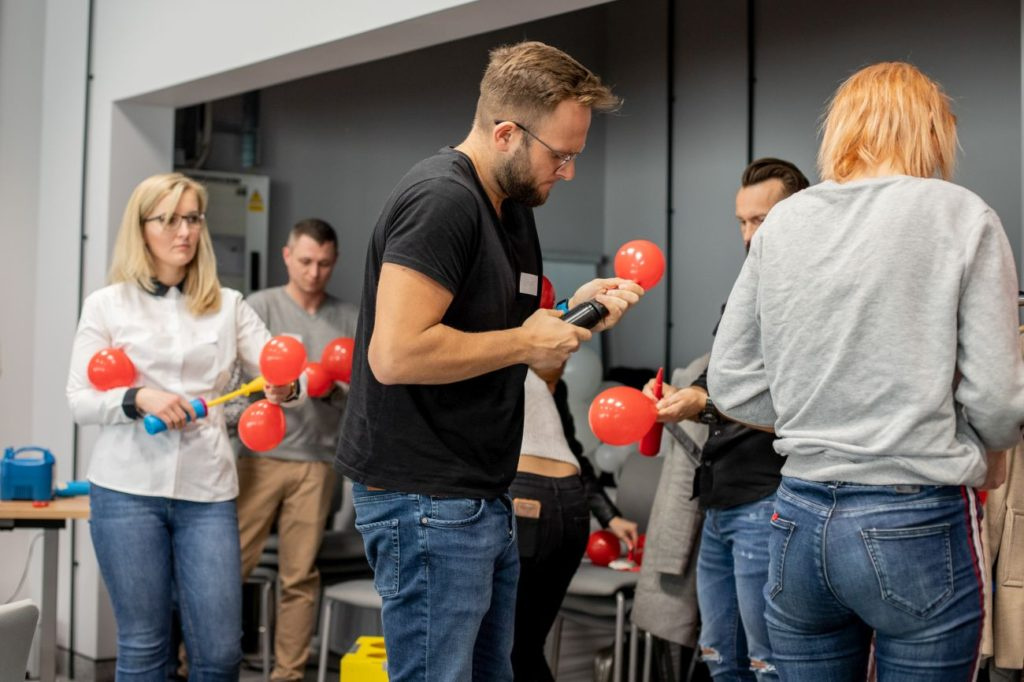 Balony Wrocław - zdjecie szkolenia-dekoracje-balonowe-wroclaw-24
