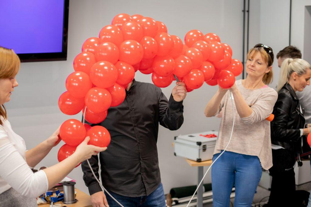Balony Wrocław - zdjecie szkolenia-dekoracje-balonowe-wroclaw-30