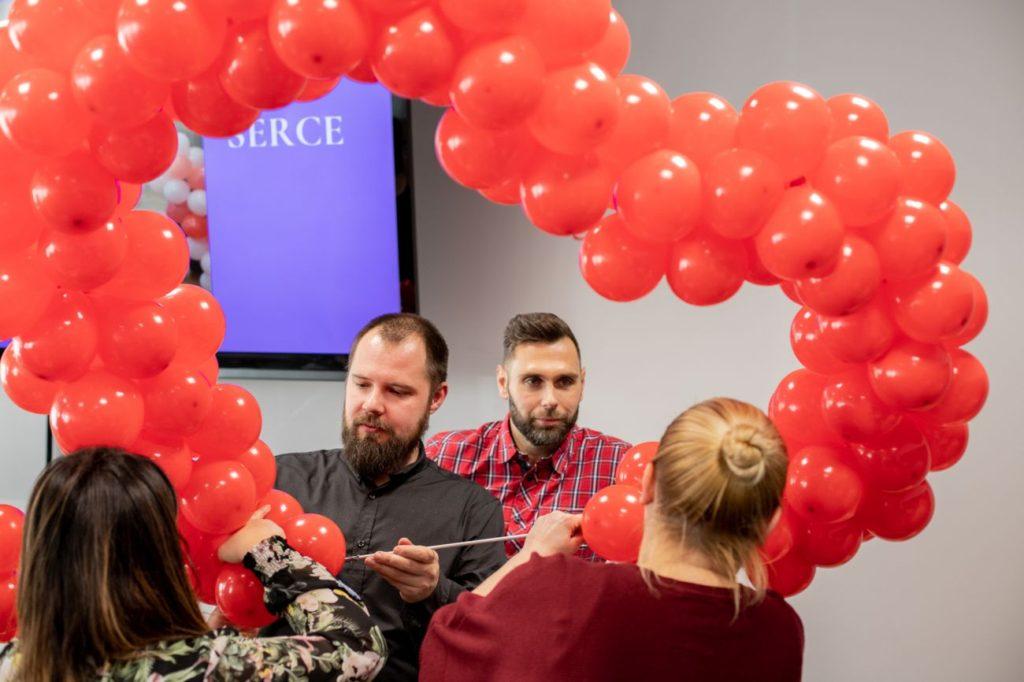 Balony Wrocław - zdjecie szkolenia-dekoracje-balonowe-wroclaw-33