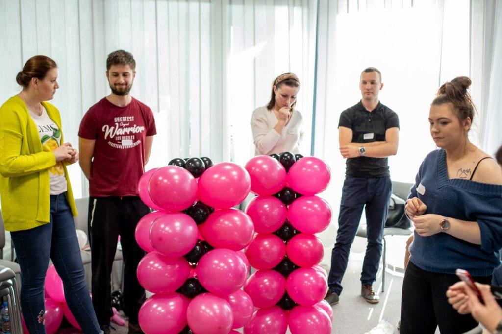 Balony Wrocław - zdjecie szkolenia-dekoracje-balonowe-wroclaw-44