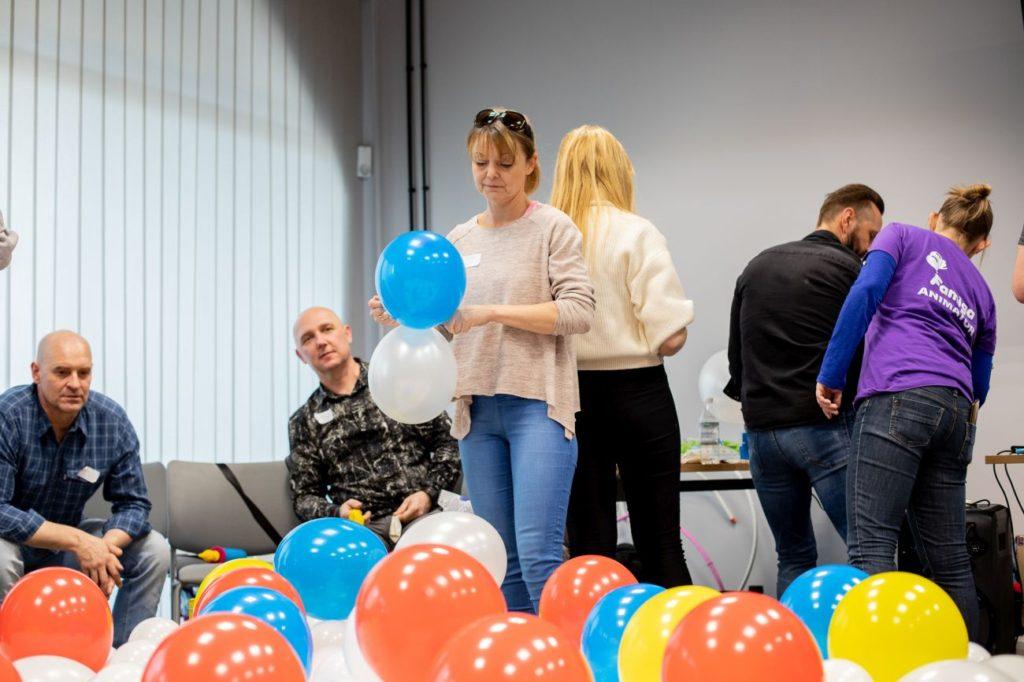 Balony Wrocław - zdjecie szkolenia-dekoracje-balonowe-wroclaw-75