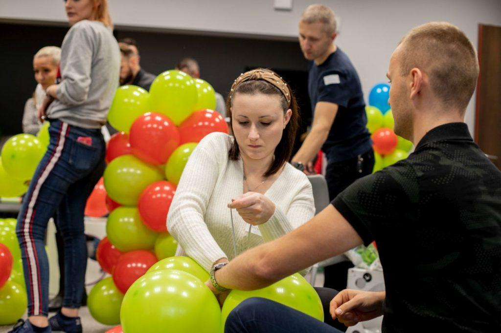 Balony Wrocław - zdjecie szkolenia-dekoracje-balonowe-wroclaw-86