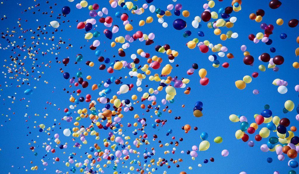 Balony Wrocław - zdjecie wypuszczanie-balonow-z-siatki