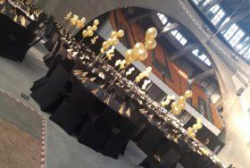 Dekoracje balonowe w Hali Stulecia Wrocław