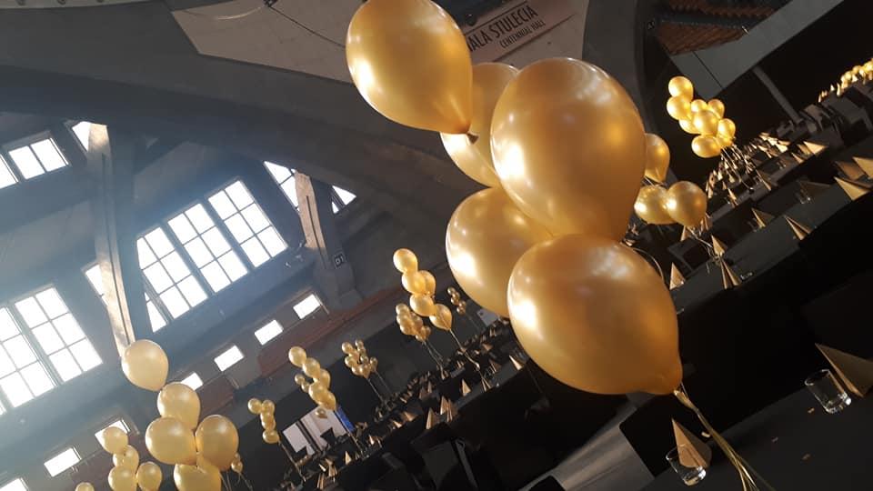Balony Wrocław - zdjecie dekoracje-balonowe-hala-stulecia-wroclaw-2