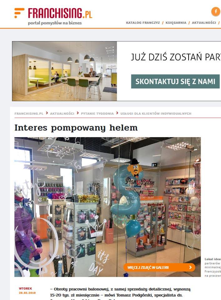 Balony Wrocław - zdjecie panbalon-franchising