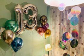Dekoracje balonowe na urodziny nastolatki