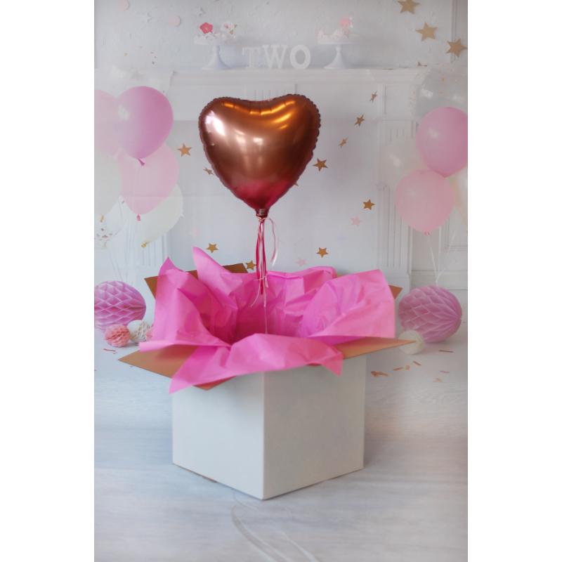 Balony Wrocław - zdjecie herbaciane-serce
